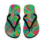 Multicolored Flippity Flop Flip Flops
