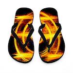 Orange Blaze Flippity Flop Flip Flops