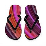 Purple Pink & Orange Flippity Flop Flip Flops