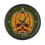 Jack-O'-Lantern Large Wall Clock