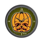Jack-O'-Lantern Wall Clock