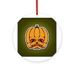 Jack-O'-Lantern Ornament (Round)