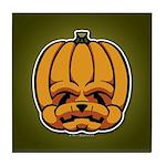 Jack-O'-Lantern Tile Coaster