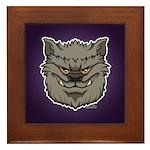 The Werewolf (Gray) Framed Tile