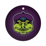 The Witch Ornament (Round)