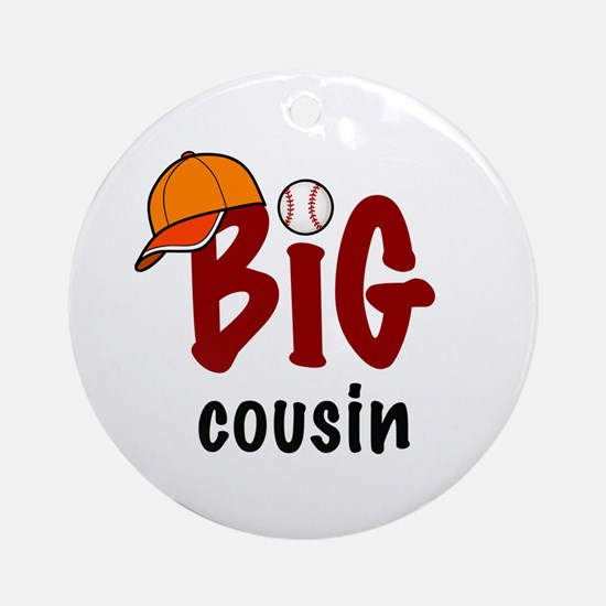 Big Cousin - Baseball Ornament (Round)