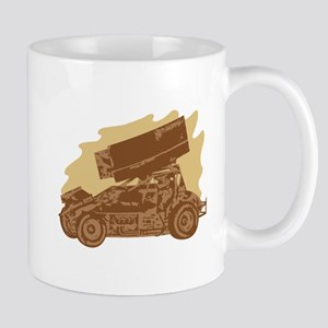 Spint Car Dirt Mug