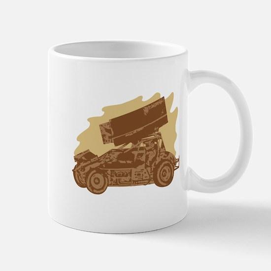 Spint Car Dirt Mug