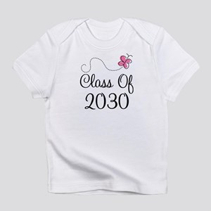 Class Of 2030 butterfly Infant T-Shirt