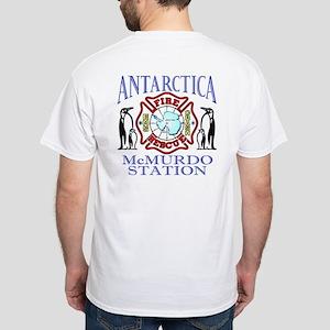 Antarctica McMurdo White T-Shirt