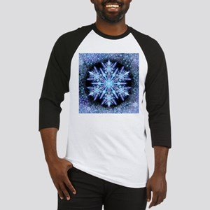 October Snowflake - square Baseball Jersey