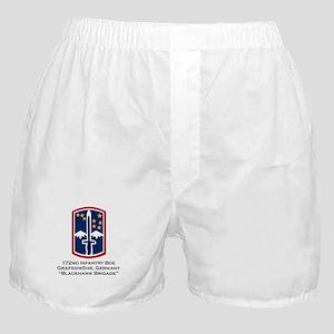 172nd Blackhawk Bde Boxer Shorts