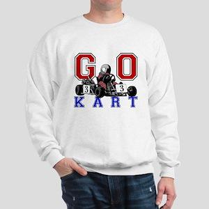 Kids Go Kart Racing Sweatshirt
