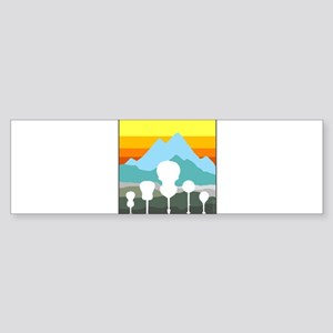Mountain Music Sticker (Bumper)