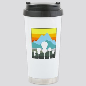 Mountain Music Stainless Steel Travel Mug