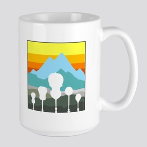 Mountain Music Large Mug