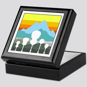 Mountain Music Keepsake Box