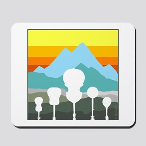Mountain Music Mousepad