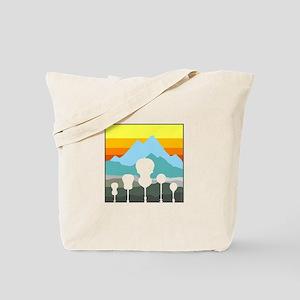 Mountain Music Tote Bag