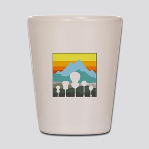 Mountain Music Shot Glass