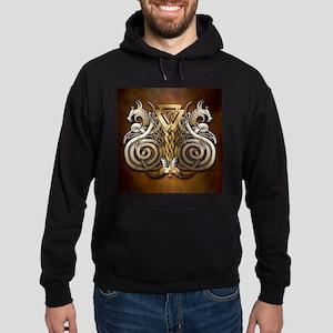 Norse Valknut Dragons Sweatshirt