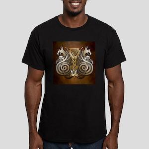 Norse Valknut Dragons T-Shirt