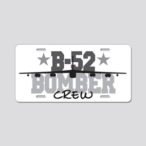 B-52 Aviation Crew Aluminum License Plate