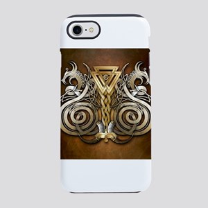 Norse Valknut Dragons iPhone 7 Tough Case