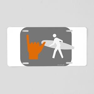 Don't walk - Surf Aluminum License Plate