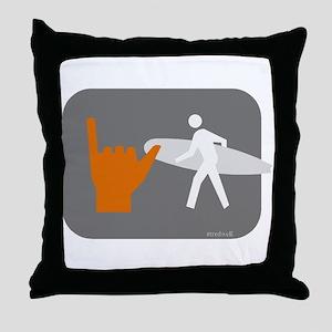 Don't walk - Surf Throw Pillow