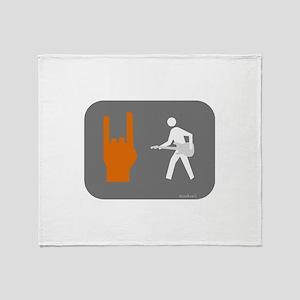 Don't walk - Rock Throw Blanket