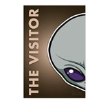The Visitor (Gray) Postcards (Package of 8)