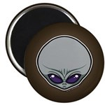 The Visitor (Gray) Magnet