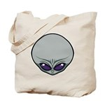 The Visitor (Gray) Tote Bag