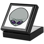 The Visitor (Gray) Keepsake Box