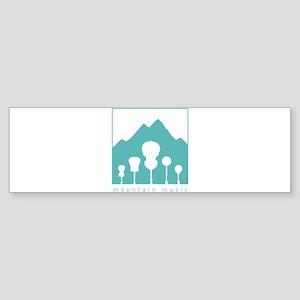 Mountain Music Sticker (Bumper)