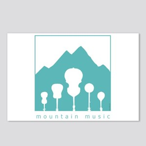 Mountain Music Postcards (Package of 8)