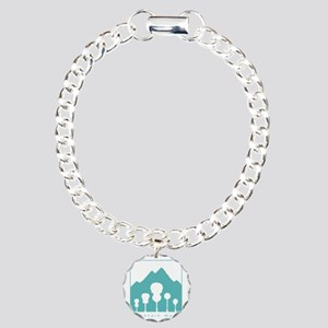 Mountain Music Charm Bracelet, One Charm