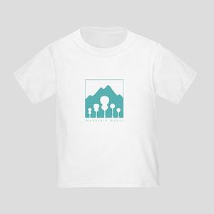 Mountain Music Toddler T-Shirt