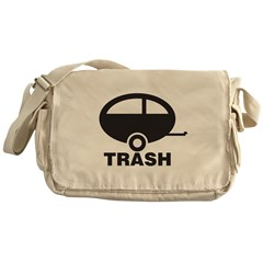 Trailor Trash Messenger Bag