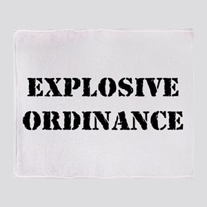 Explosive Ordinance Throw Blanket