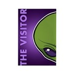 The Visitor (Green) Rectangle Magnet (100 pack)
