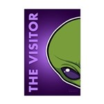 The Visitor (Green) Mini Poster Print