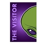 The Visitor (Green) Postcards (Package of 8)