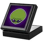 The Visitor (Green) Keepsake Box