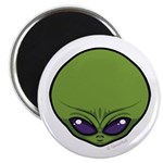 The Visitor (Green) Magnet