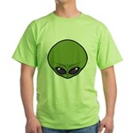 The Visitor (Green) Green T-Shirt
