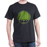 The Visitor (Green) Dark T-Shirt