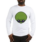 The Visitor (Green) Long Sleeve T-Shirt