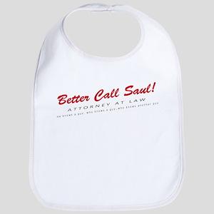 'Better Call Saul!' Cotton Baby Bib